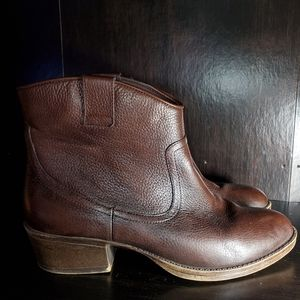 Kenneth Cole Reaction Hot Step Leather Boots 8½